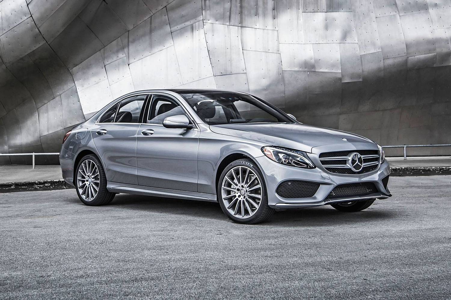 2018 Mercedes-Benz C-Class C 300 4MATIC Sedan Exterior Shown