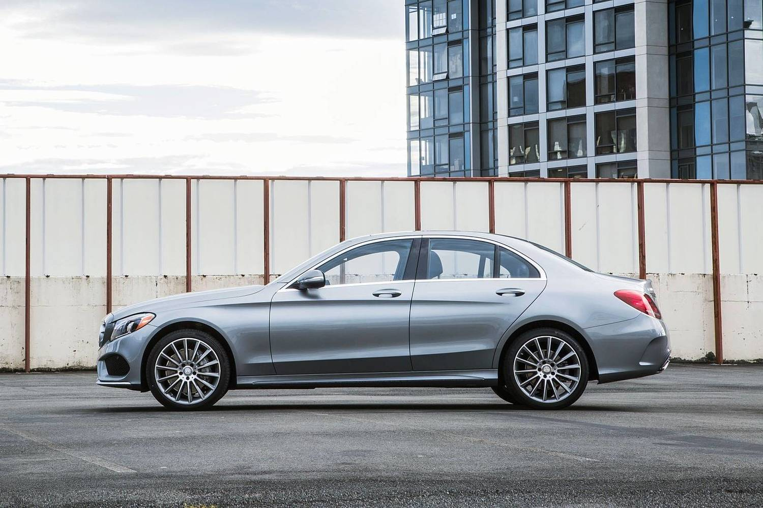 2018 Mercedes-Benz C-Class C 300 4MATIC Sedan Profile Shown