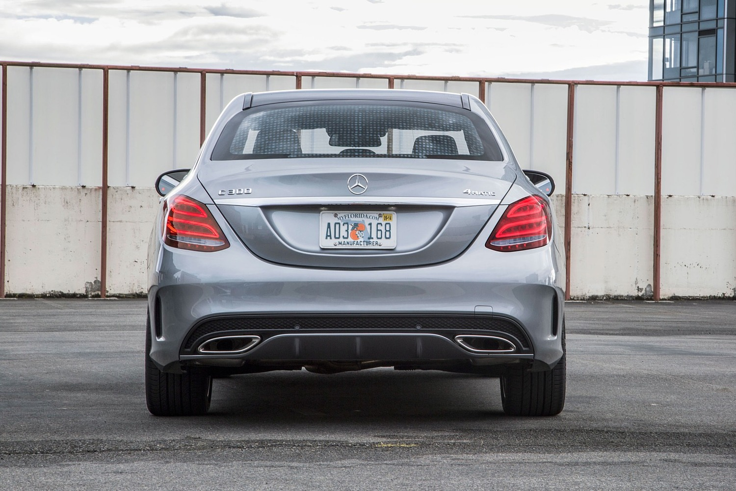 2018 Mercedes-Benz C-Class C 300 4MATIC Sedan Exterior