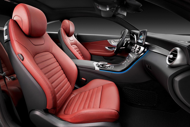2018 Mercedes-Benz C-Class C 300 Coupe Interior