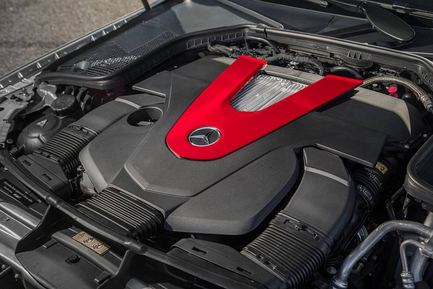 2018 Mercedes-Benz C-Class AMG C 43 Coupe 3.0L V6 Turbo Engine