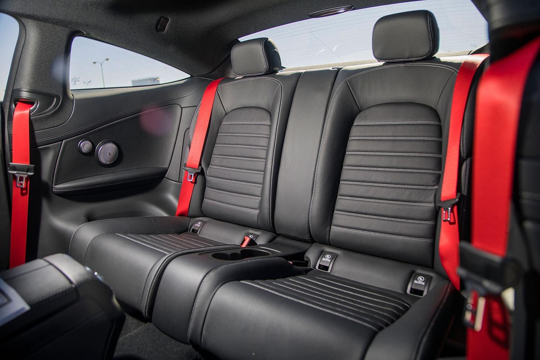 2018 Mercedes-Benz C-Class AMG C 43 Coupe Rear Interior