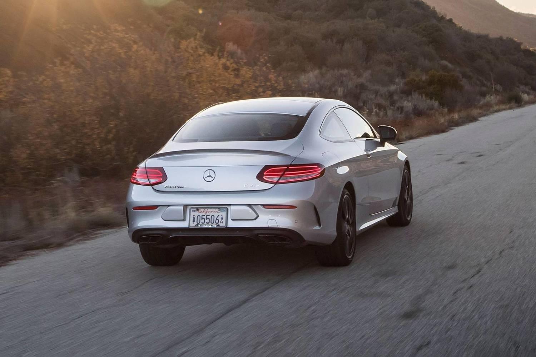 2018 Mercedes-Benz C-Class AMG C 43 Coupe Exterior
