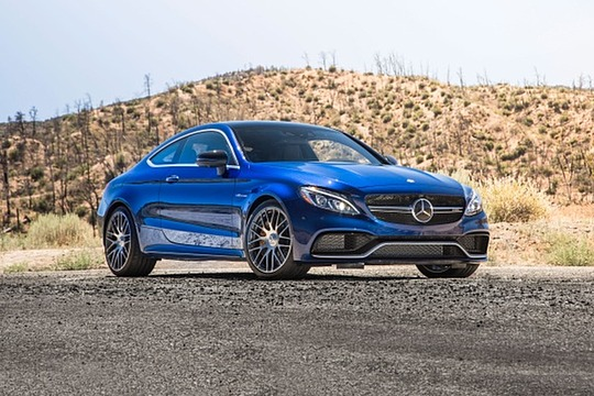 2018 Mercedes Benz C Class Coupe AMG C 63 S