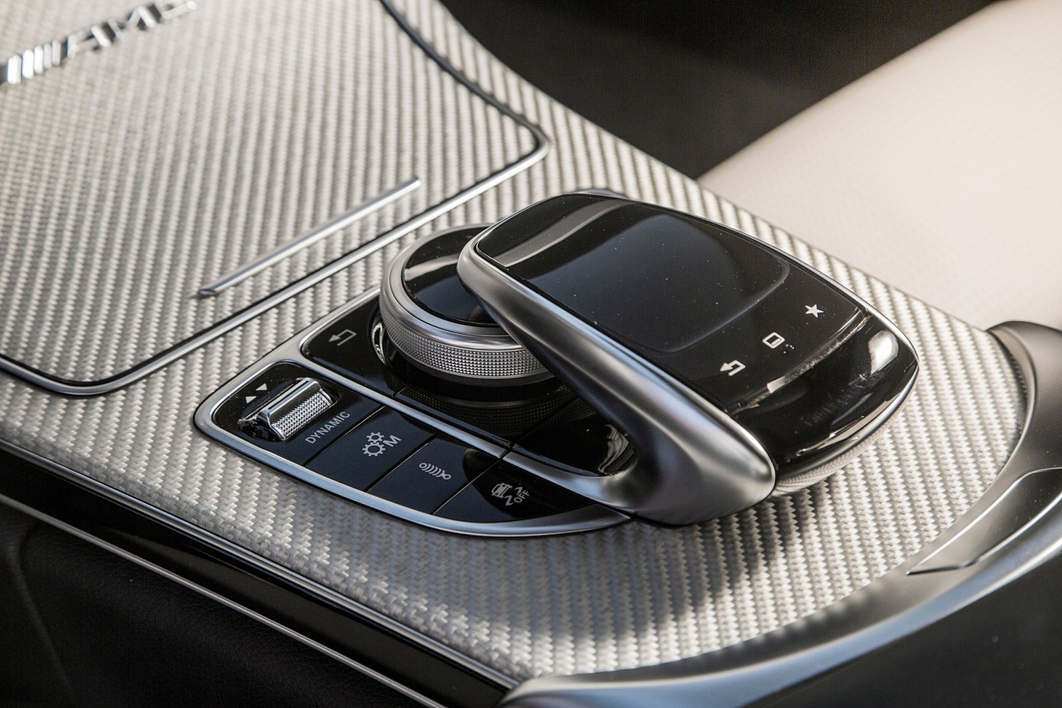 2018 Mercedes-Benz C-Class AMG C 63 S Coupe Shifter