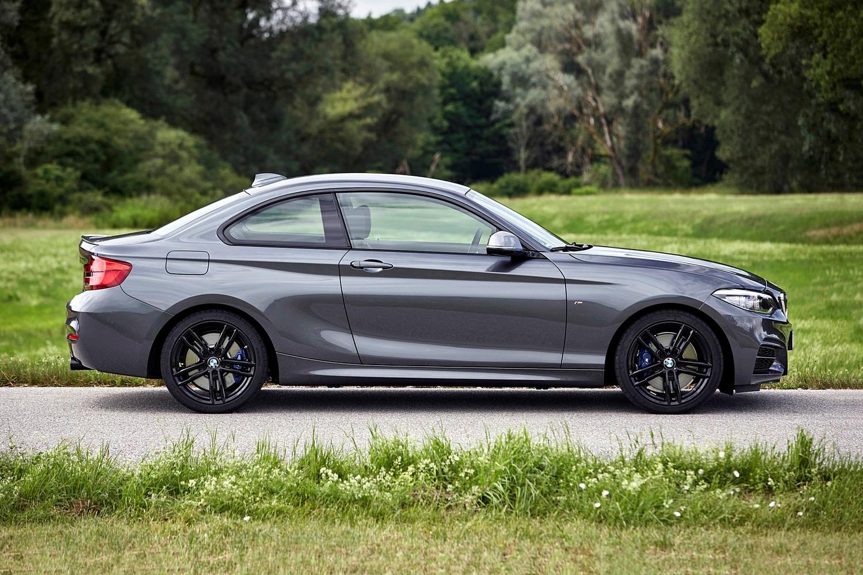 2018 BMW 2 Series M240i xDrive Coupe Profile. European Model Shown.