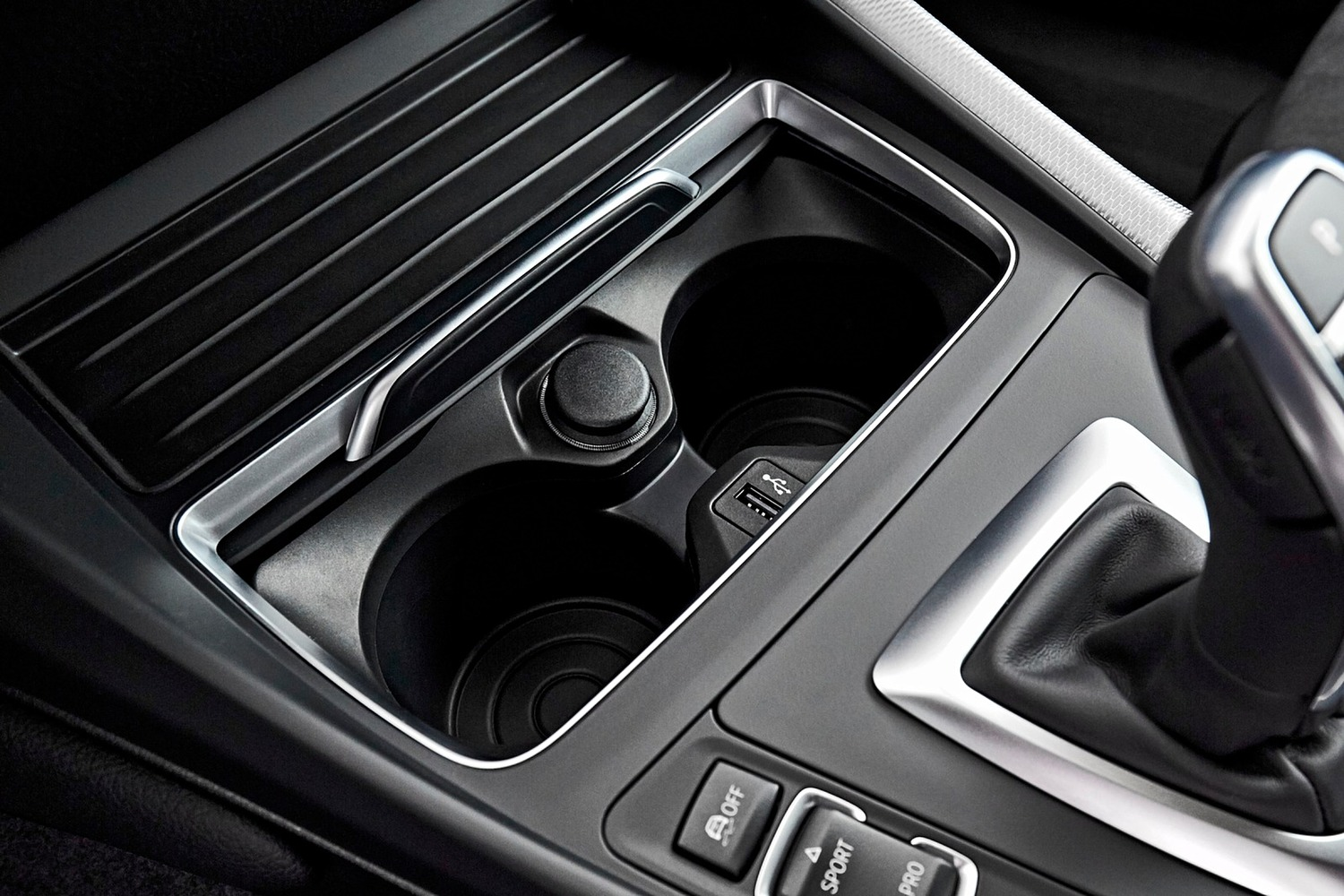 2018 BMW 2 Series M240i xDrive Coupe Cupholders