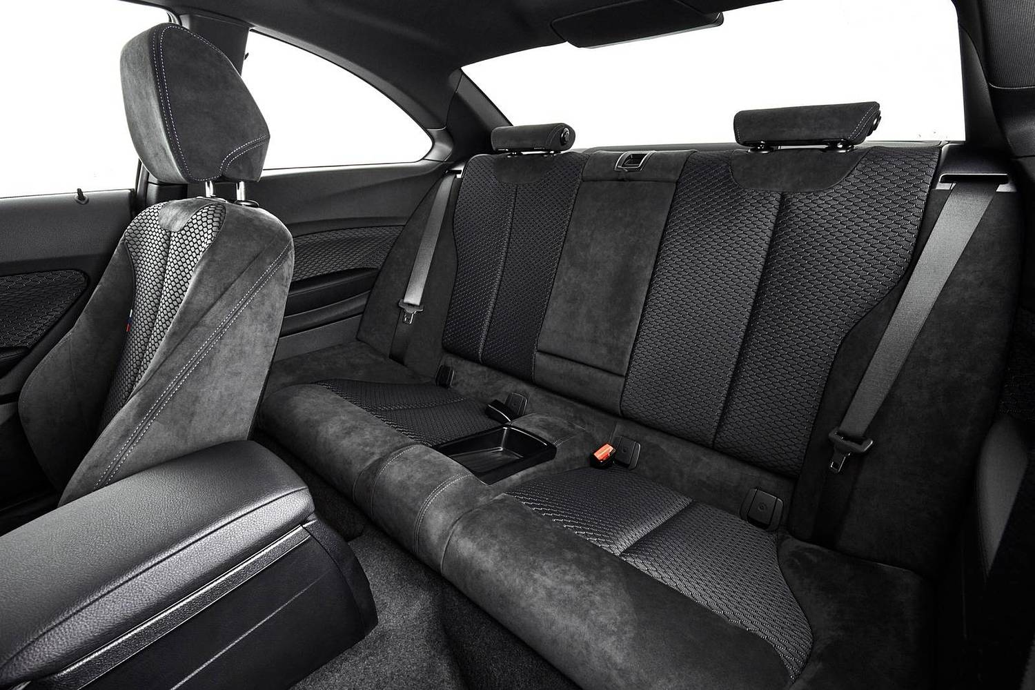 2018 BMW 2 Series M240i xDrive Coupe Rear Interior