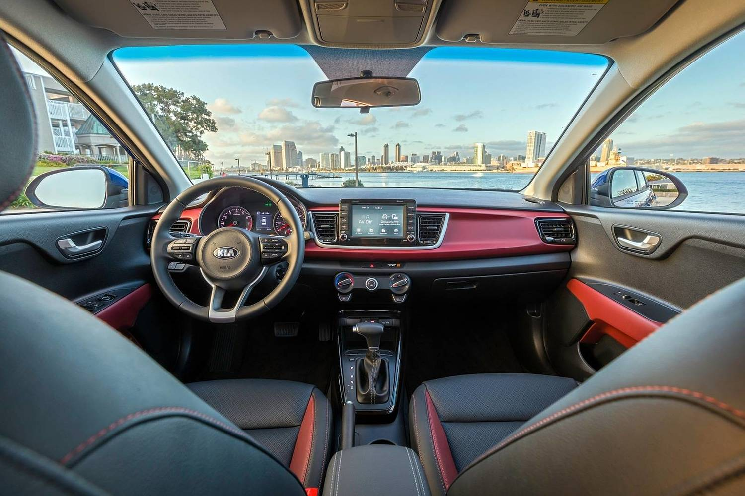 2018 Kia Rio EX Sedan Dashboard