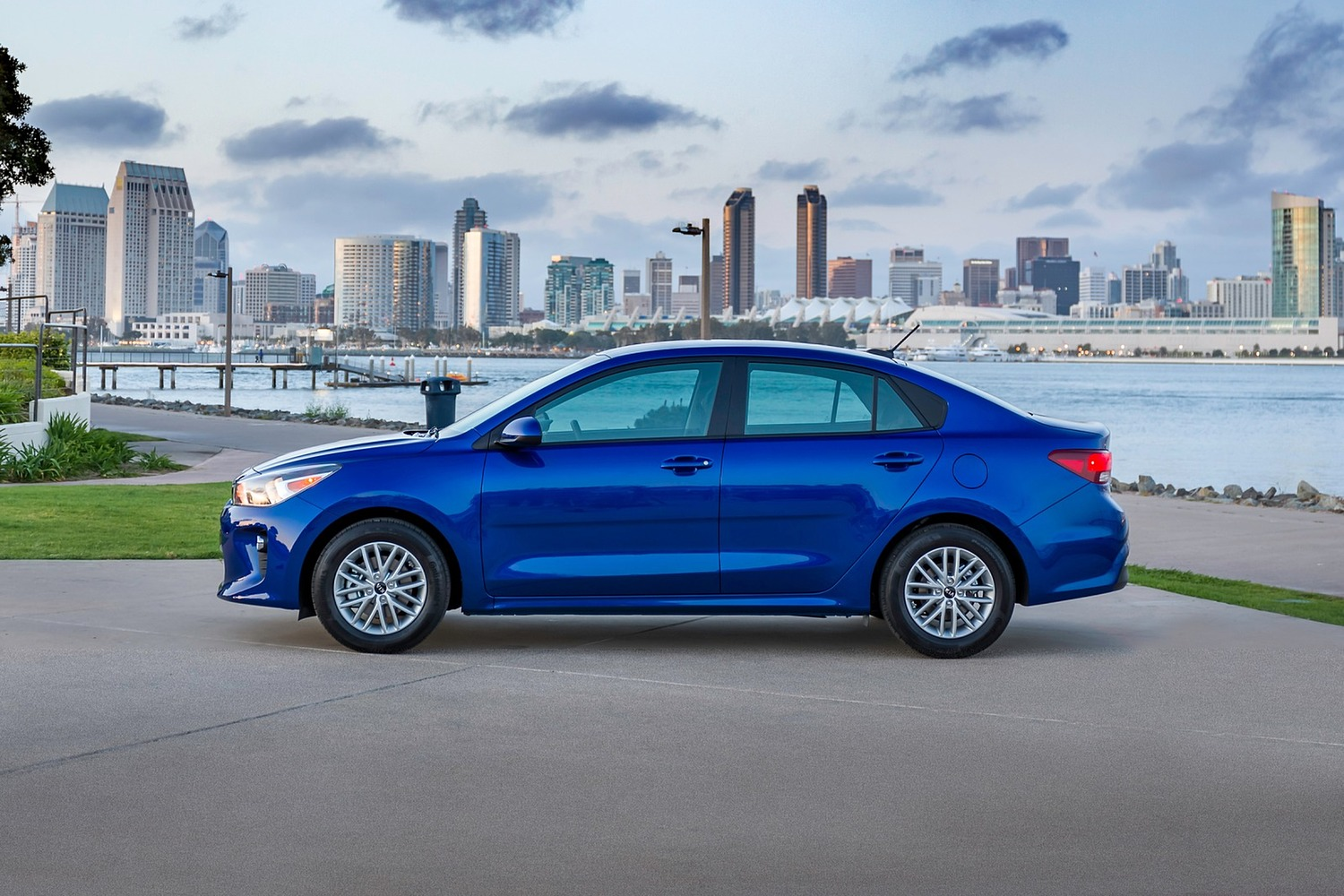 2018 Kia Rio EX Sedan Profile Shown
