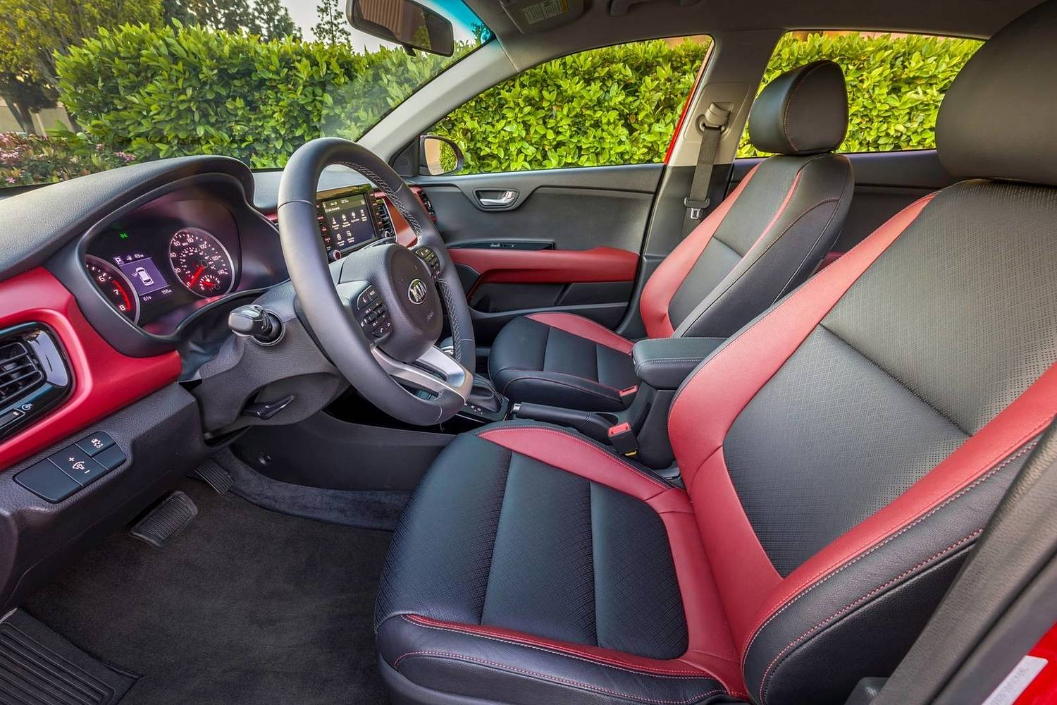 2018 Kia Rio EX Sedan Interior