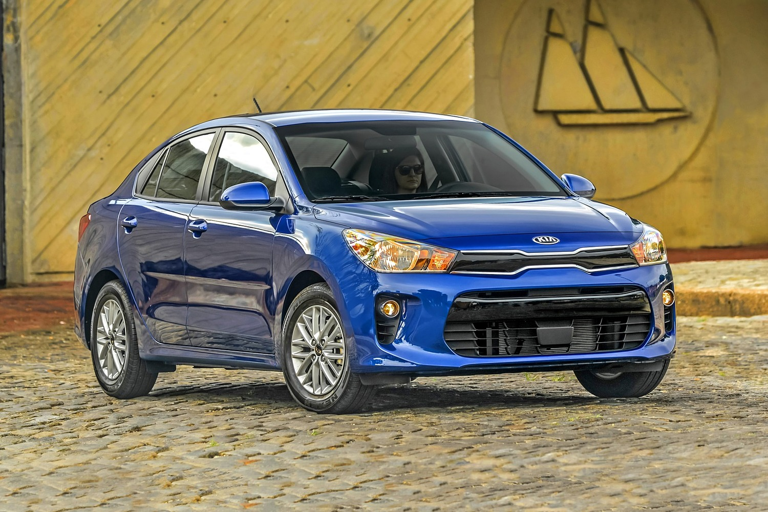 2018 Kia Rio EX Sedan Exterior Shown