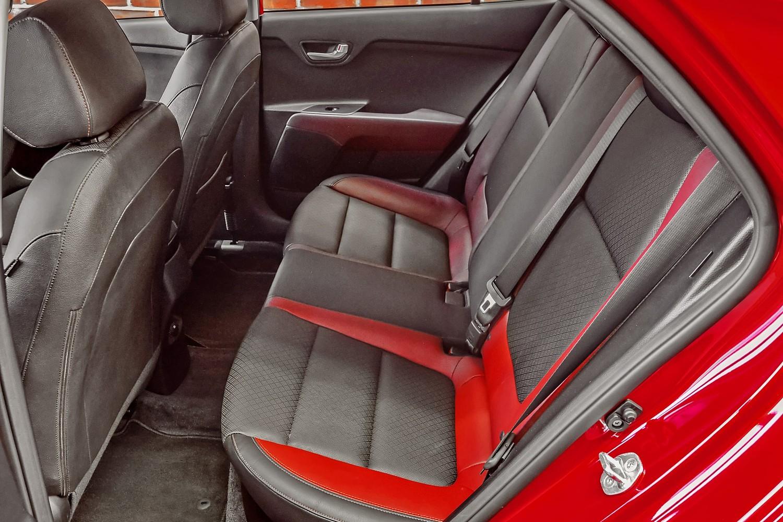 2018 Kia Rio EX 4dr Hatchback Rear Interior