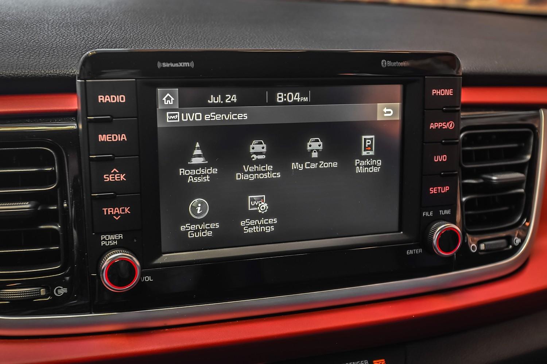 2018 Kia Rio EX 4dr Hatchback Center Console
