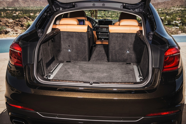 2018 BMW X6 xDrive50i 4dr SUV Rear Seats Down
