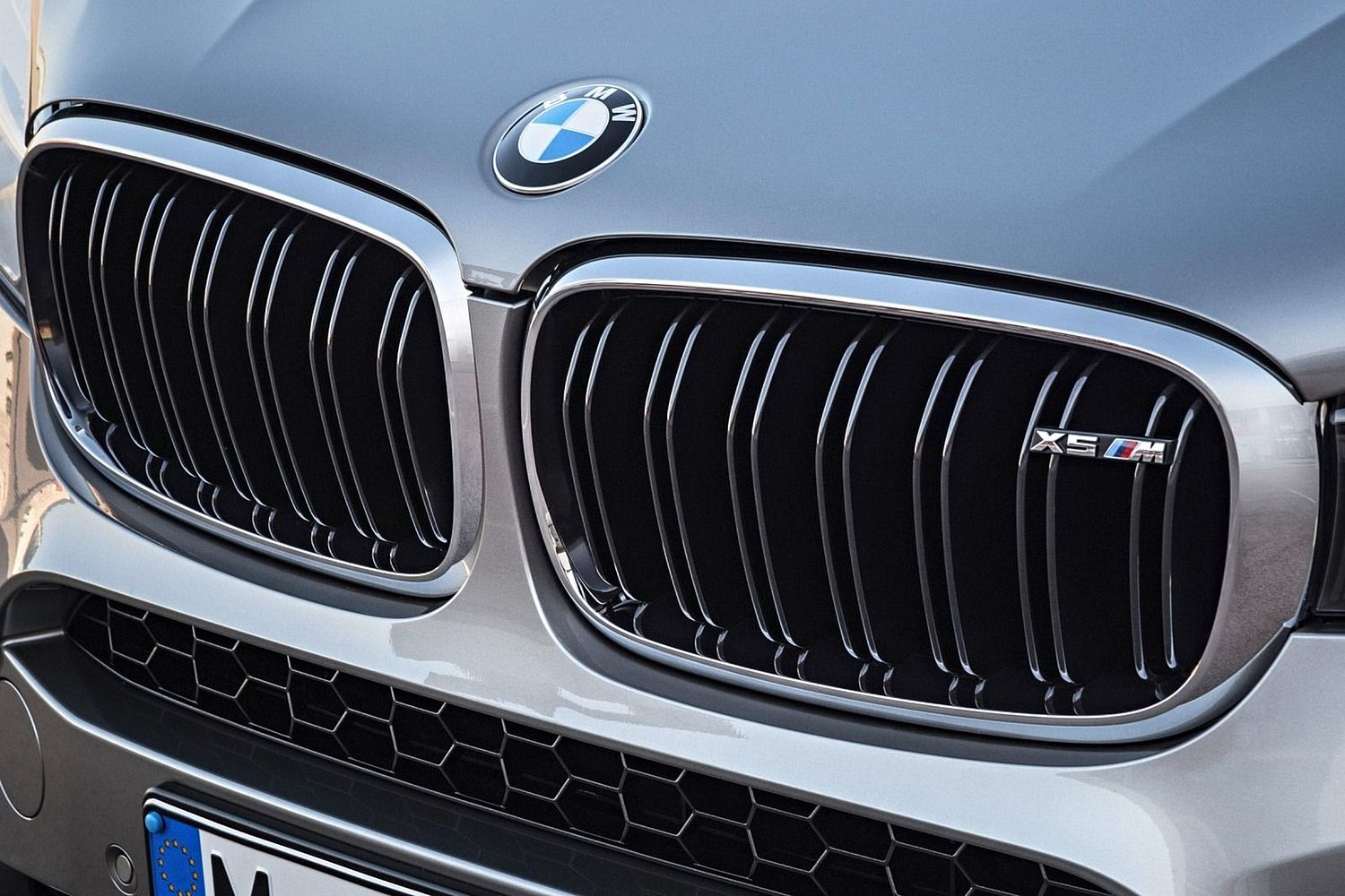BMW X5 M 4dr SUV Front Badge