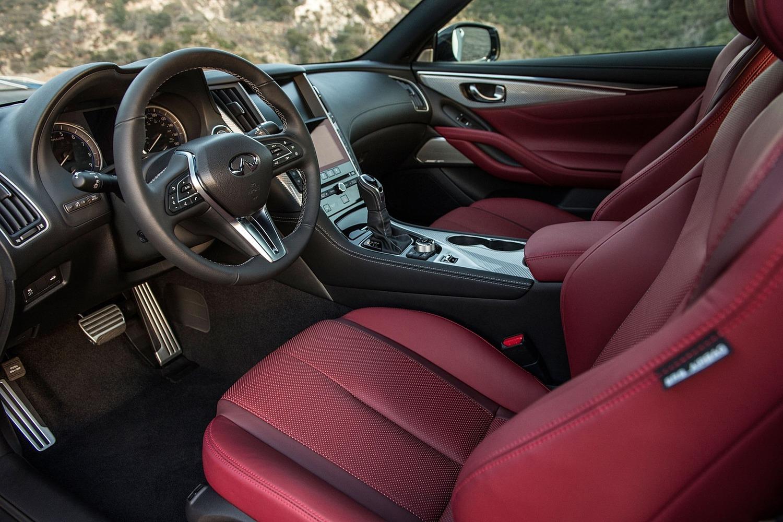 2018 INFINITI Q60 3.0t SPORT Coupe Interior