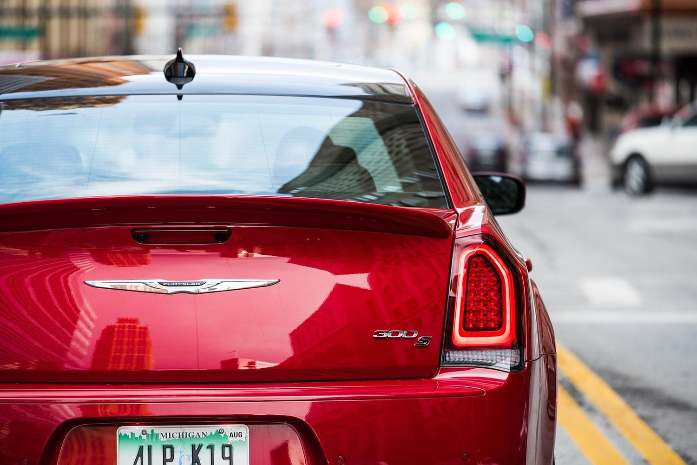 2018 Chrysler 300 S Sedan Rear Badge