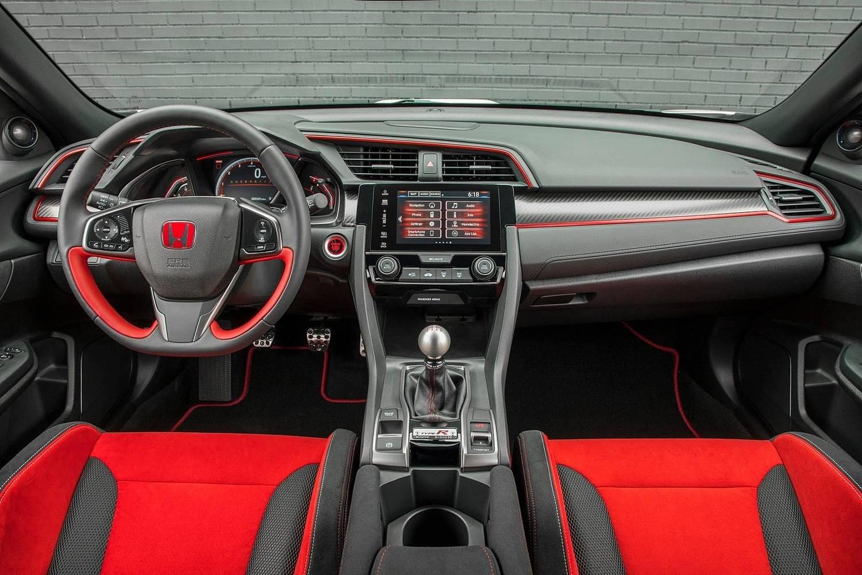 2018 Honda Civic Type R Touring 4dr Hatchback Dashboard