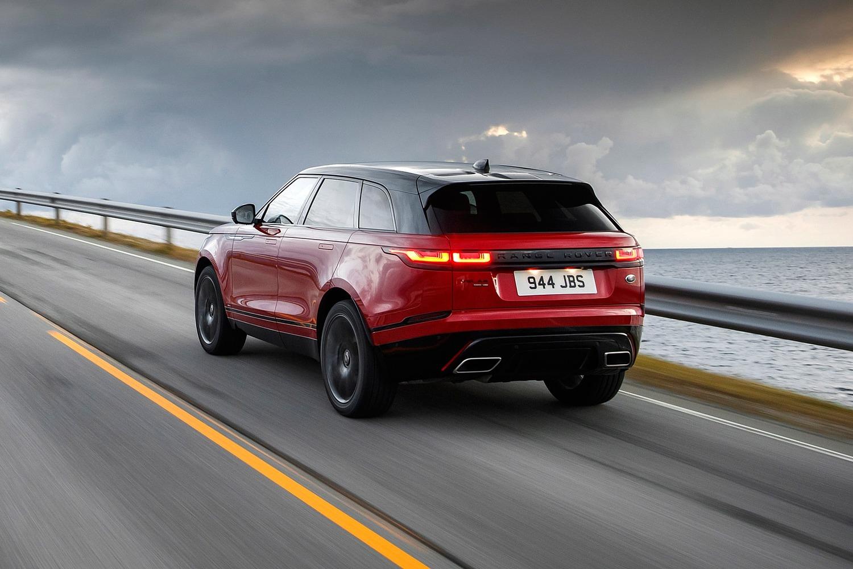 2018 Land Rover Range Rover Velar R-Dynamic HSE 4dr SUV Exterior. European Model Shown.