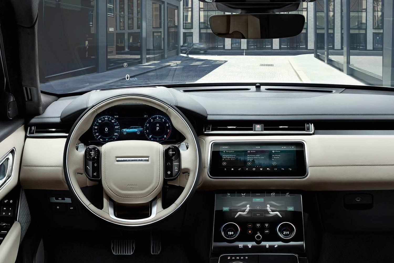 2018 Land Rover Range Rover Velar First Edition 4dr SUV Steering Wheel Detail