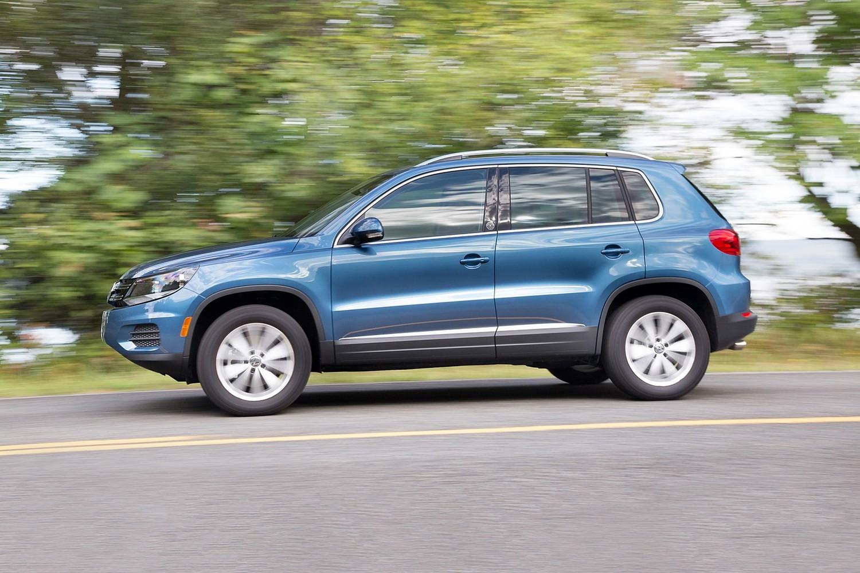 2017 Volkswagen Tiguan Suv Vehie