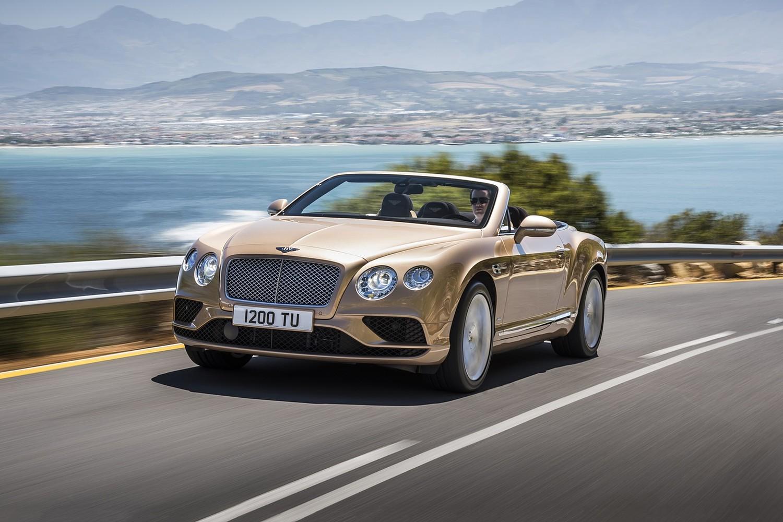 2018 Bentley Continental Convertible Vehie