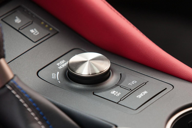 2018 Lexus RC F Coupe Aux Controls