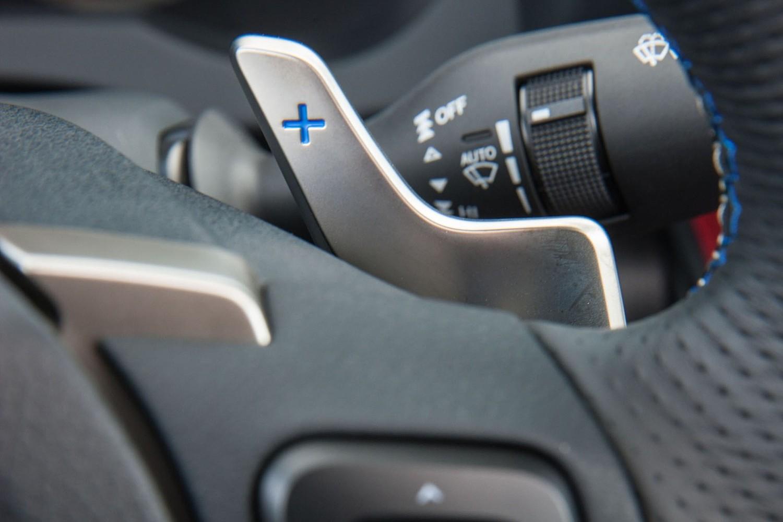 2018 Lexus RC F Coupe Steering Wheel Detail