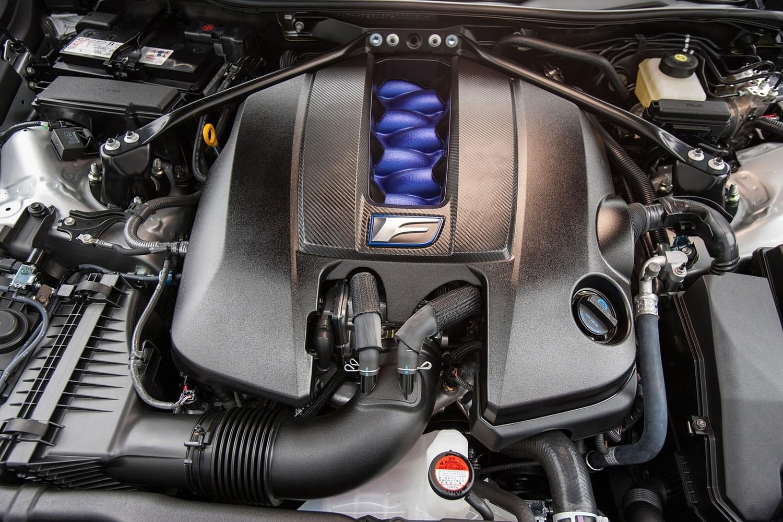 2018 Lexus RC F Coupe 5.0L V8 Engine