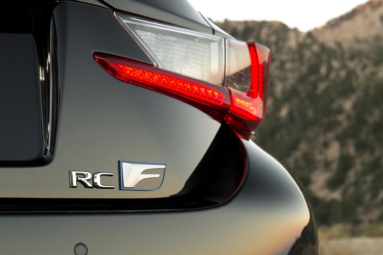2018 Lexus RC F Coupe Rear Badge