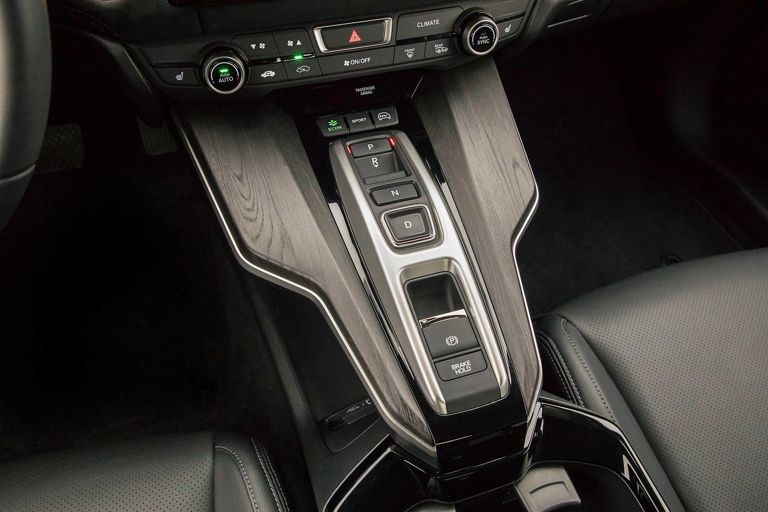 2018 Honda Clarity Touring Plug-In Hybrid Sedan Shifter