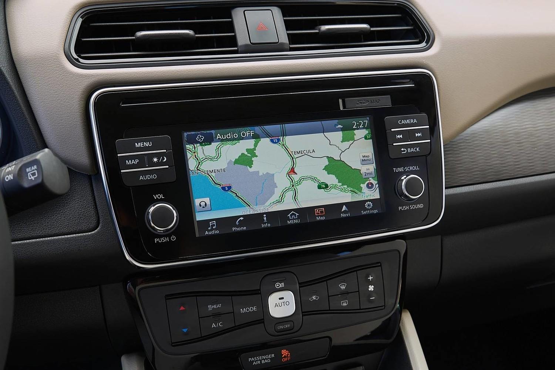 2018 Nissan Leaf SL 4dr Hatchback Navigation System