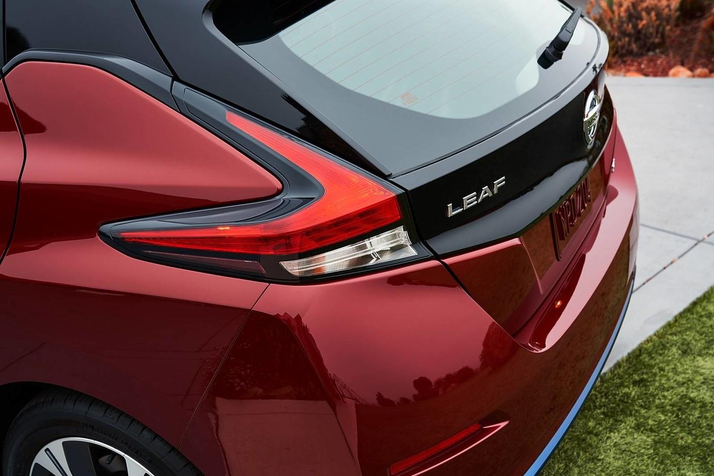2018 Nissan Leaf SL 4dr Hatchback Rear Badge