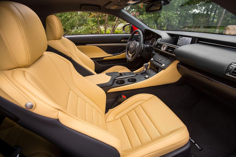 Lexus RC 350 Coupe Interior