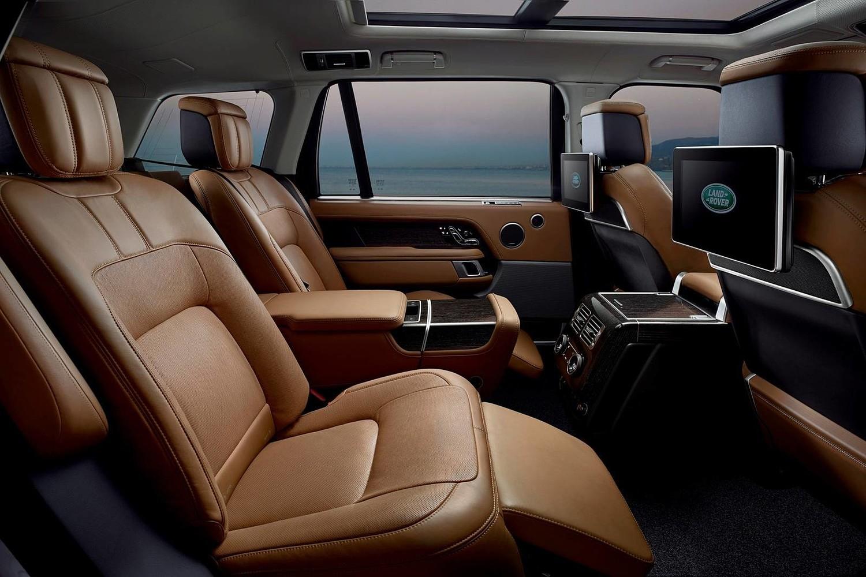 2018 Land Rover Range Rover Autobiography 4dr SUV Rear Interior