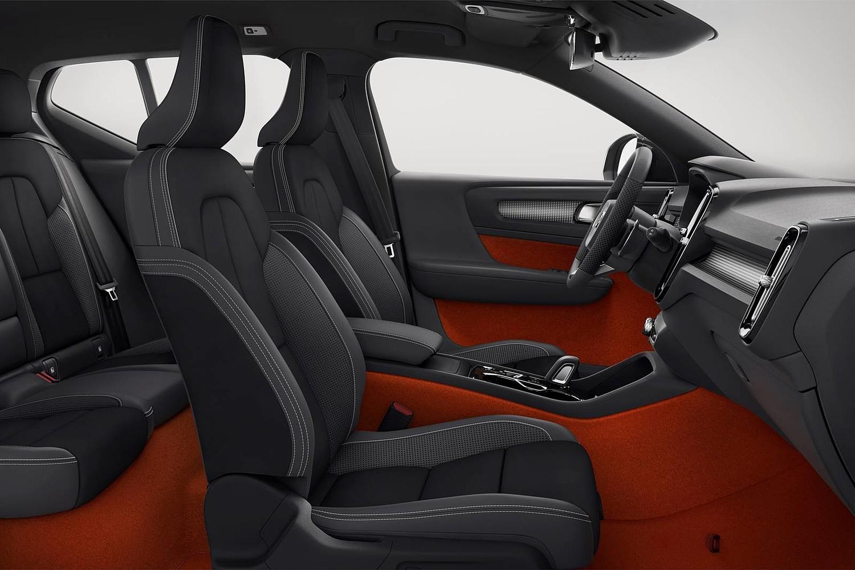 2019 Volvo XC40 T5 R-Design 4dr SUV Interior Shown