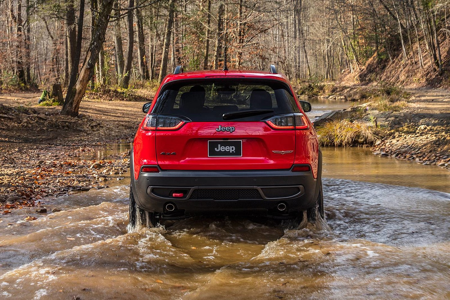2019 Jeep Cherokee Trailhawk 4dr SUV Exterior