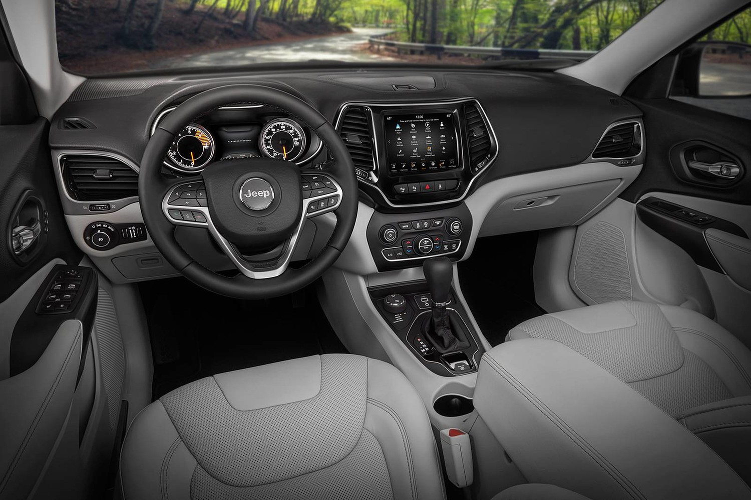 2019 Jeep Cherokee Limited 4dr SUV Dashboard