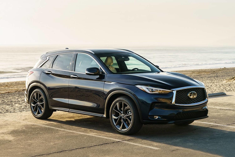 2019 INFINITI QX50 ESSENTIAL 4dr SUV Exterior Shown