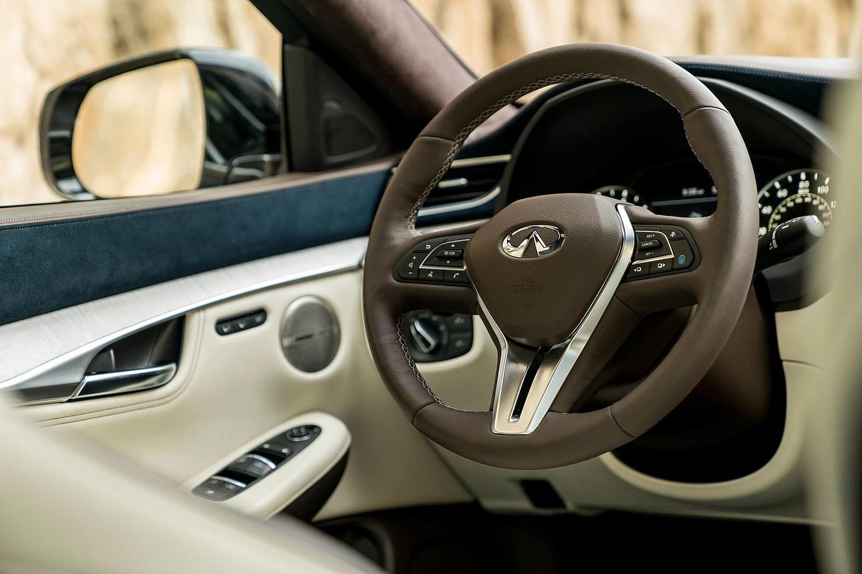 2019 INFINITI QX50 ESSENTIAL 4dr SUV Steering Wheel Detail