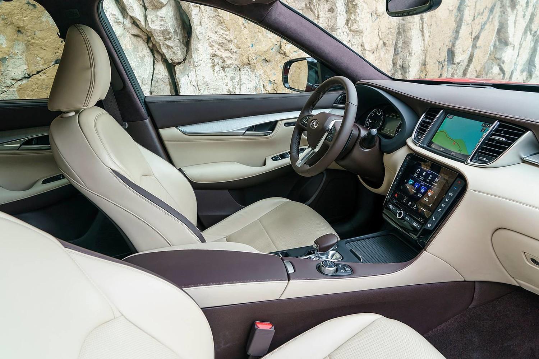 2019 INFINITI QX50 ESSENTIAL 4dr SUV Interior Shown