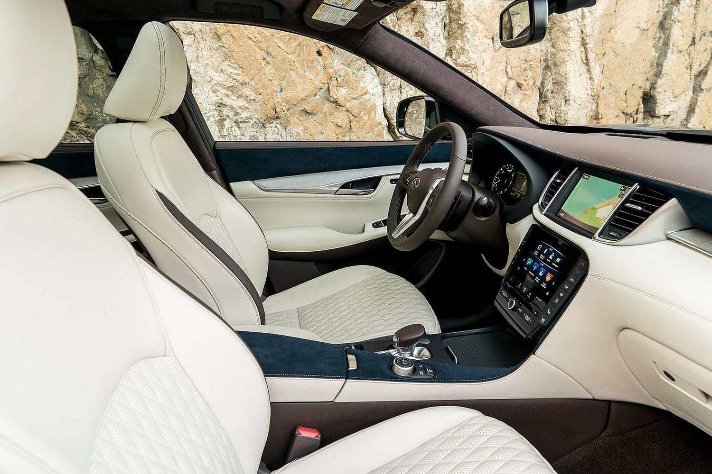 2019 INFINITI QX50 ESSENTIAL 4dr SUV Interior. Options Shown.