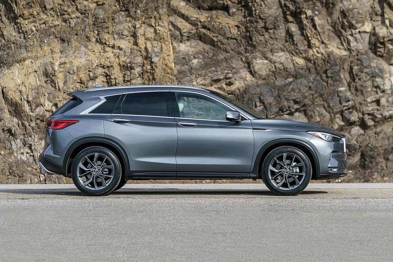 2019 INFINITI QX50 ESSENTIAL 4dr SUV Profile Shown