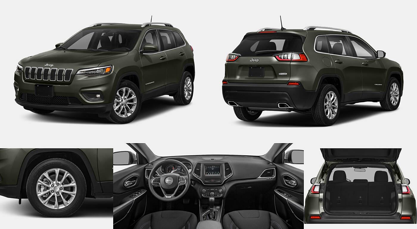 2021 Jeep Cherokee 80th Anniversary / Altitude / High Altitude / Latitude / Latitude Lux / Latitude Plus / Limited