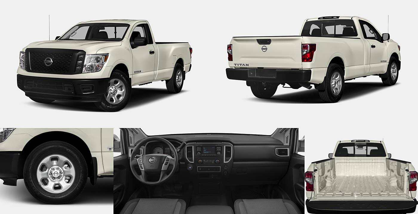 2017 nissan titan pickup vehie. Black Bedroom Furniture Sets. Home Design Ideas