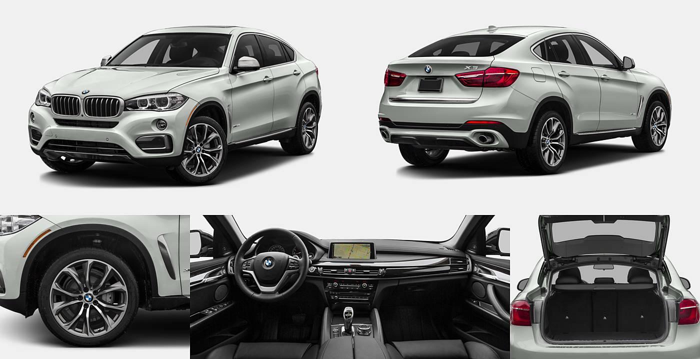 2016 BMW X6 sDrive35i / xDrive35i / xDrive50i