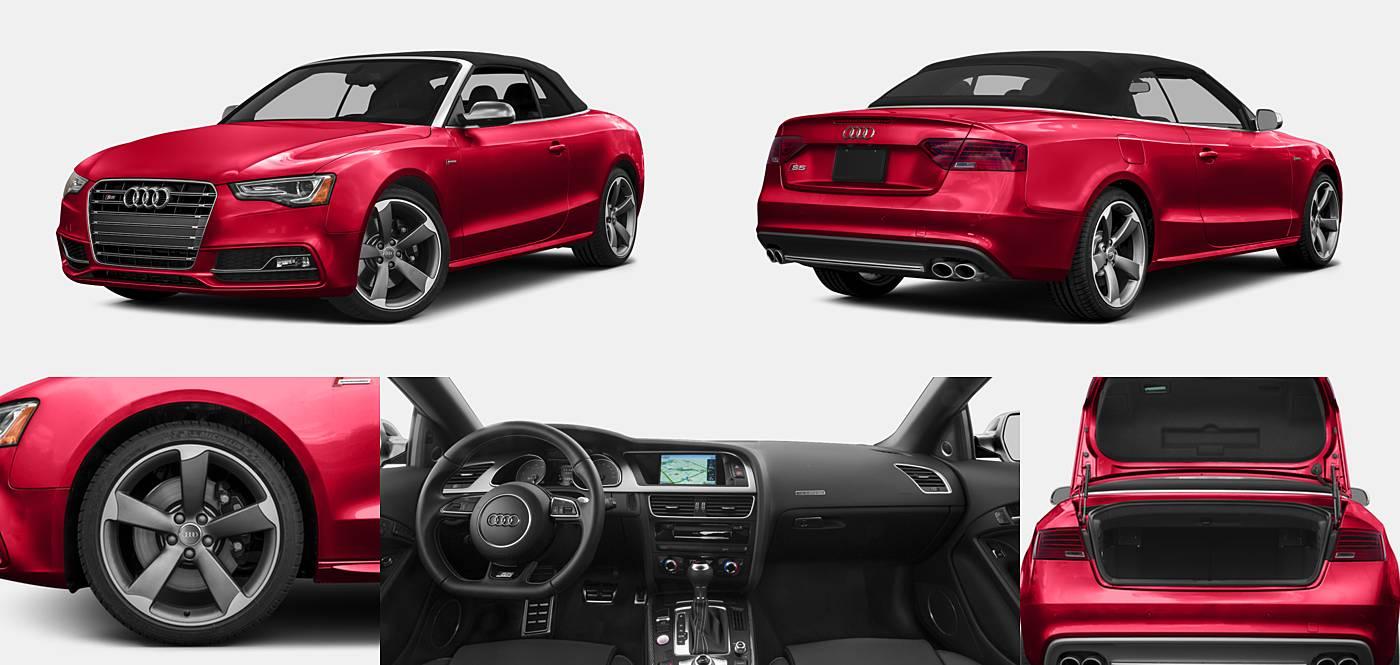 2016 Audi S5 Convertible Premium Plus / Prestige