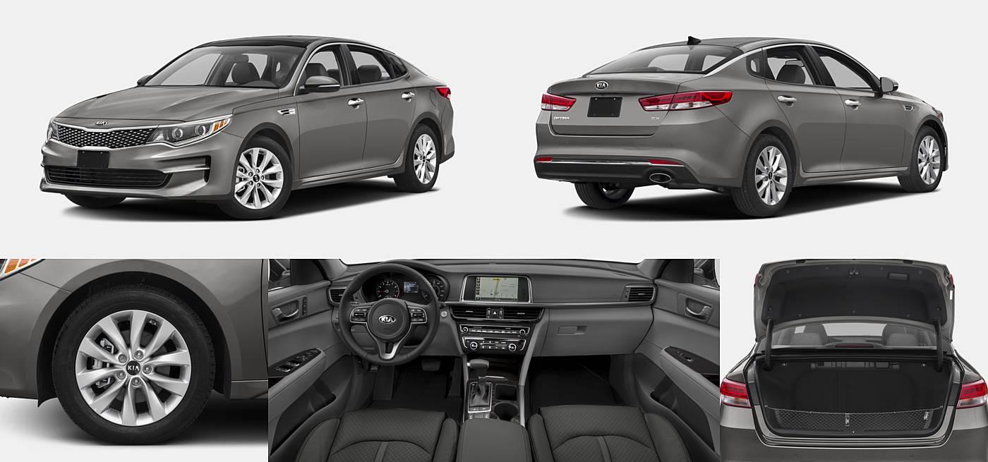 2016 Kia Optima EX / LX / LX Turbo