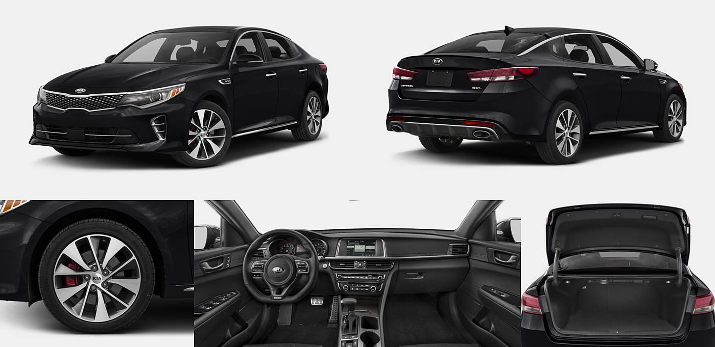 2016 Kia Optima SX Turbo / SXL Turbo